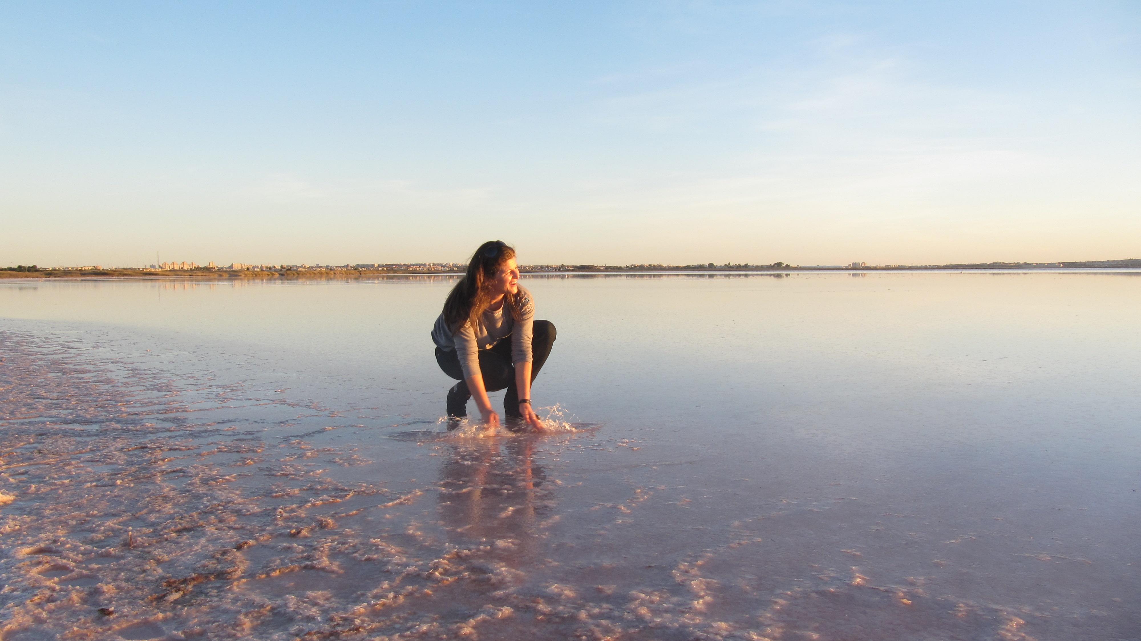 Laguna rosa torrevieja, agua, atardecer, pixabay, españa, agorastyle