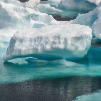 Icebergs verdes