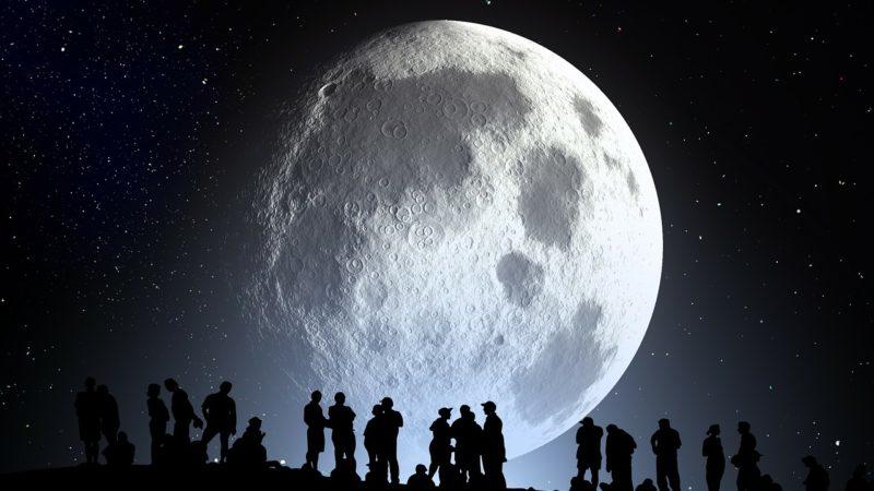 Meteoroides liberan vapor de agua en la Luna