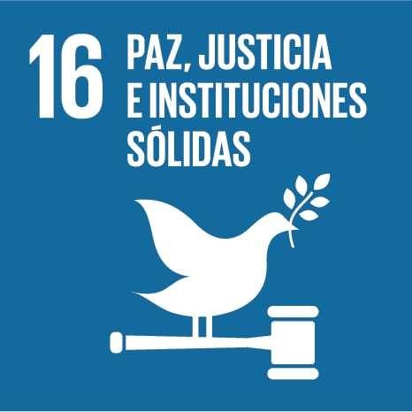 ODS 16: Promover sociedades, justas, pacíficas e inclusivas