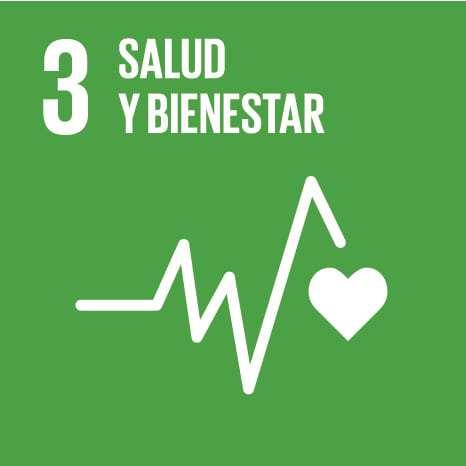 ODS 3: Garantizar una vida sana y promover el bienestar para todos en todas las edades