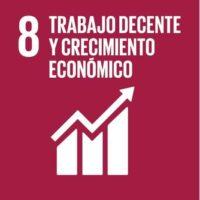 ODS 8: Promover el crecimiento económico sostenido, inclusivo y sostenible, el empleo pleno y productivo y el trabajo decente para todos