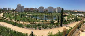 tormenta, Parque inundable La Marjal Alicante, agua