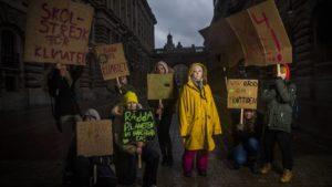 greta thumberg, cambio climático, generación Z, jóvenes