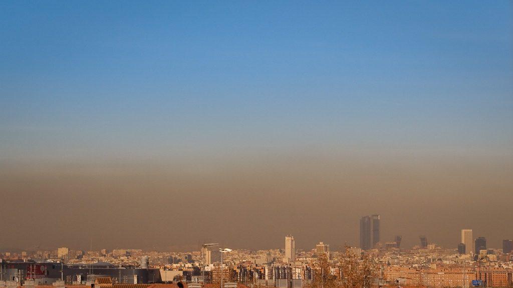 Madrid, contaminación, Madrid central, cambio climatico, reduce, España,