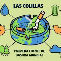 Las colillas, primera fuente de basura mundial