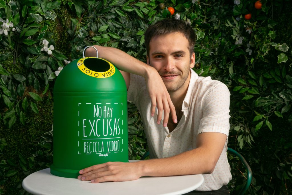 Banderas verdes, Ricardo Gomez, reciclaje