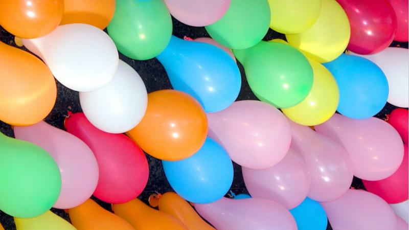 Que los globos no contaminen la fiesta