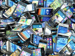 movil, telefono, usado, residuo, sostenibles