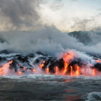 Las mareas bajas afectan al magma y provocan terremotos