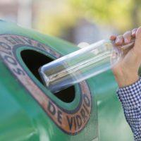 Banderas Verdes para impulsar el reciclaje de vidrio