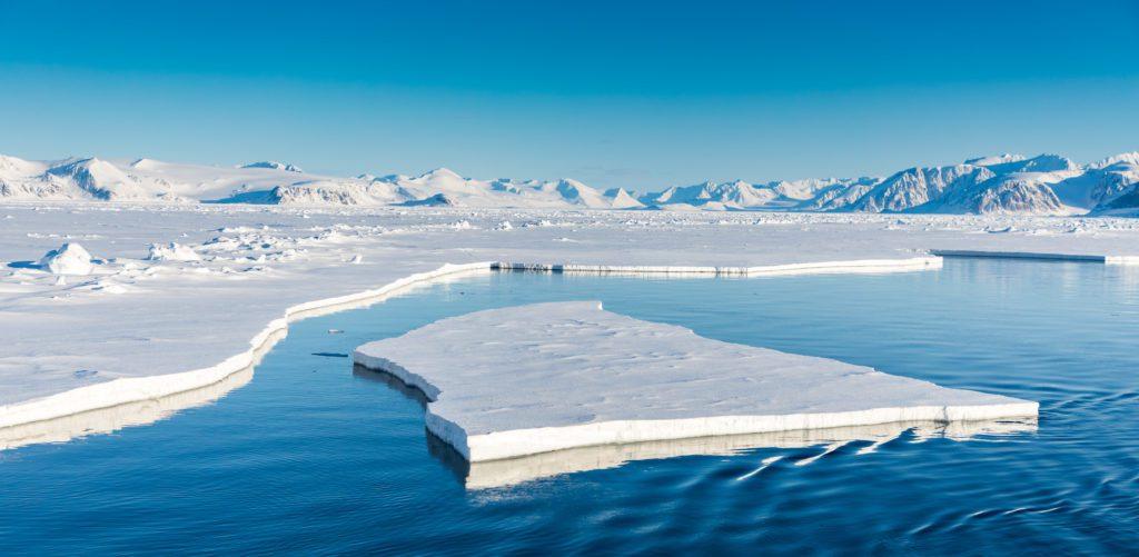 Ártico, mar, deshielo
