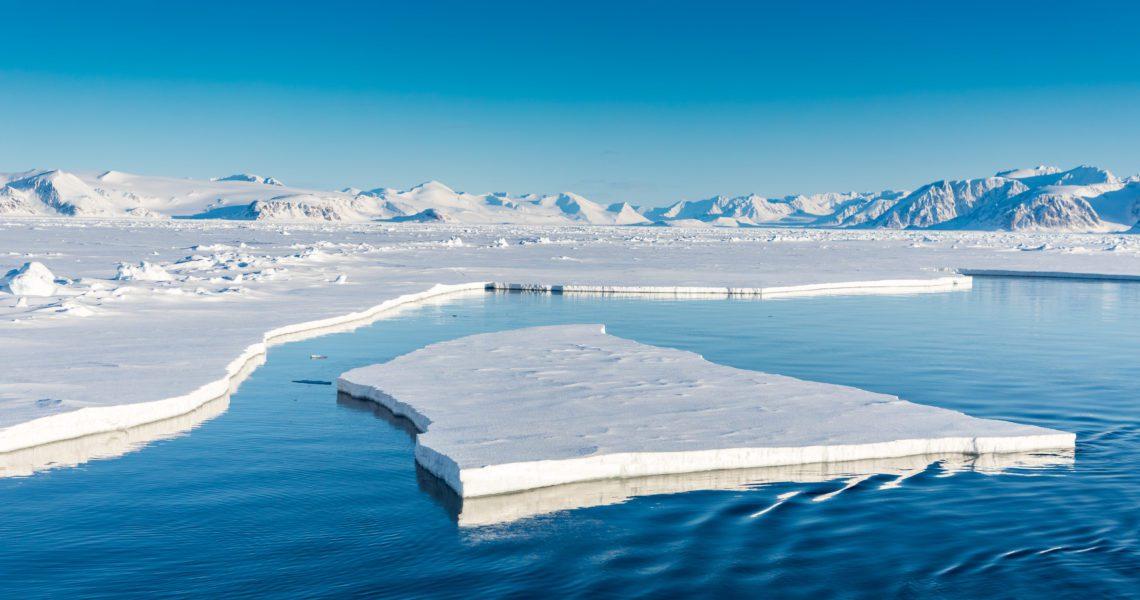 La subida del mar en el Ártico es de 2,2 milímetros al año