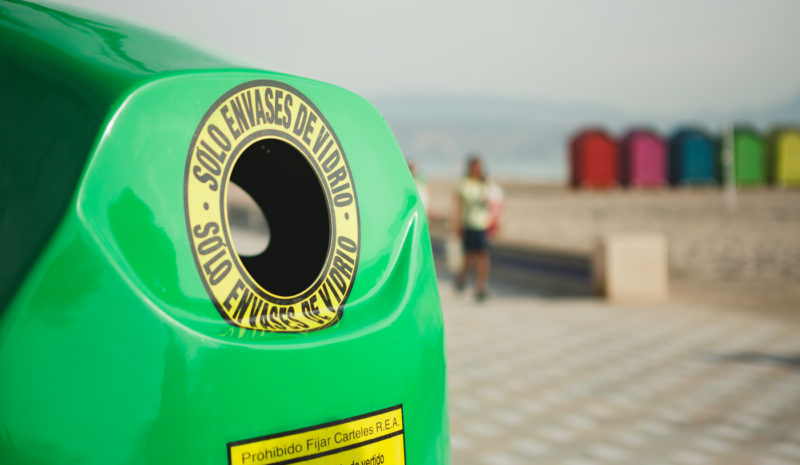El reciclaje de envases de vidrio crece un 8,3%