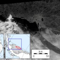 El Iceberg A68 lleva dos años en movimiento