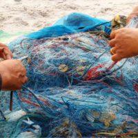 La captura total de las redes pesqueras tiene <br></noscript>un 38% de basura