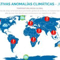 Significativas anomalías climáticas