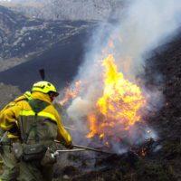 En 2019 ha ardido ya cinco veces más terreno que en el mismo periodo del año pasado