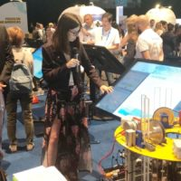 La joven estudiante Ariadna González aspira a los Nobel del Agua