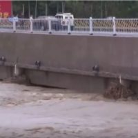 El poderoso tifón Lekima asola la costa de China