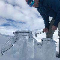 Los microplásticos llegan al hielo Ártico por el aire