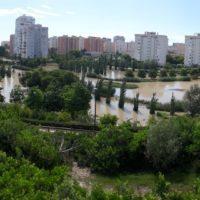 El parque de La Marjal salva a Alicante de inundaciones tras una tormenta histórica