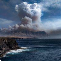 La historia detrás de la foto viral del incendio de Gran Canaria