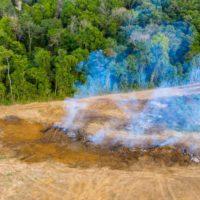 El presidente de Chile analiza con su homólogo brasileño los incendios del Amazonas