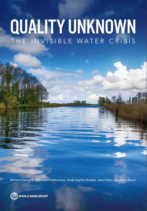 Pincha en la imagen para acceder al informe del Banco Mundial sobre calidad del agua y crecimiento económico