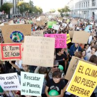 Los jóvenes españoles alzan la voz por el clima