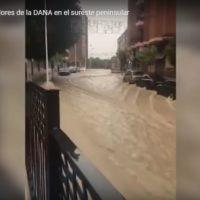 Los efectos devastadores de la DANA en el sudeste peninsular