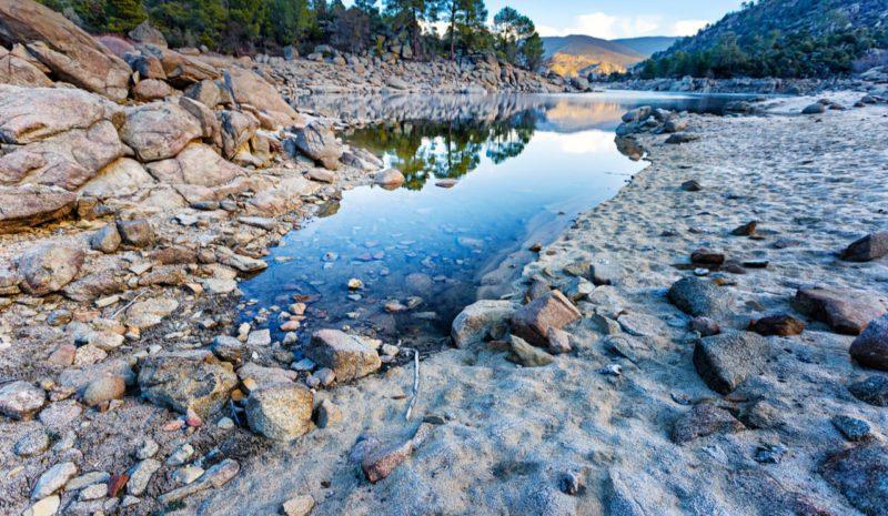 La reserva hídrica disminuye una semana más hasta el 55%
