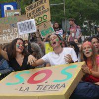 Los jóvenes celebran hoy su gran jornada contra el cambio climático