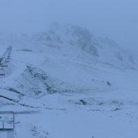 Primera nevada de la temporada en los Pirineos