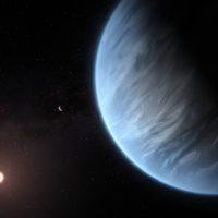 Descubren por primera vez vapor de agua en un planeta habitable