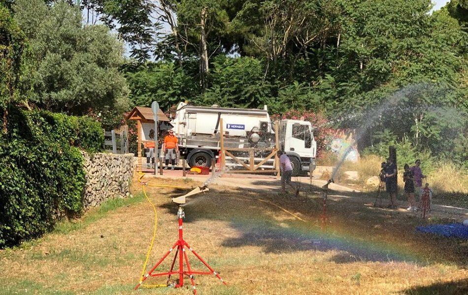 Aguas regeneradas en la lucha contra incendios