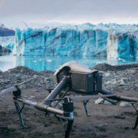Drones documentan el rápido deshielo en glaciares de Islandia