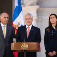 El presidente Piñera anuncia que Chile renuncia a la COP25