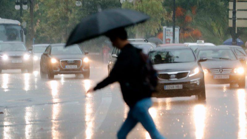 Las lluvias descienden una media del 7% en España
