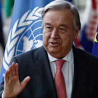 Guterres pide al capital privado inversión en desarrollo sostenible