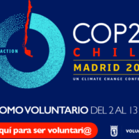 ¿Cómo se puede formar parte del equipo de voluntarios para la COP25 en Madrid?