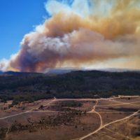 Las altas temperaturas complican la temporada de incendios en Chile