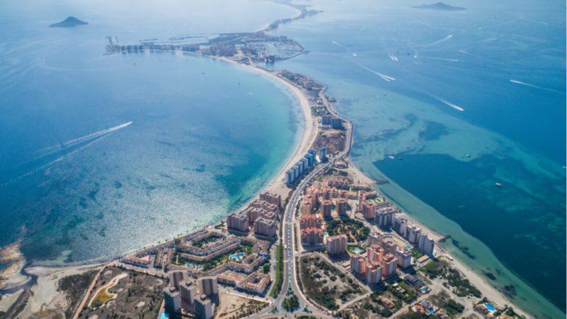 Murcia amplía a 1.500 metros la franja libre de nitratos en torno al Mar Menor