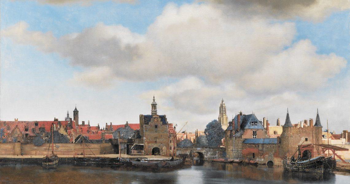 Vermeer y el paisaje con agua de su ciudad