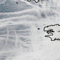 Las estelas de los barcos muestran que también afectan al clima