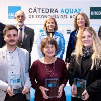 La Cátedra Aquae premia una tesis sobre ahorro de agua a través de la dieta