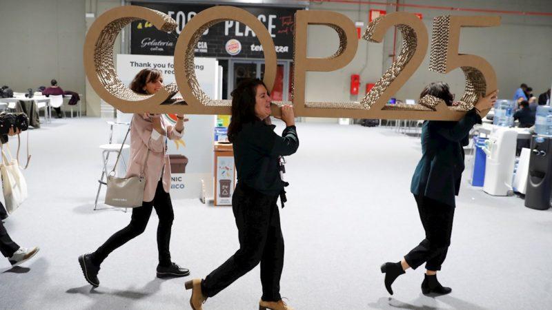 La COP25 aplaza al año que viene la lucha contra el cambio climático