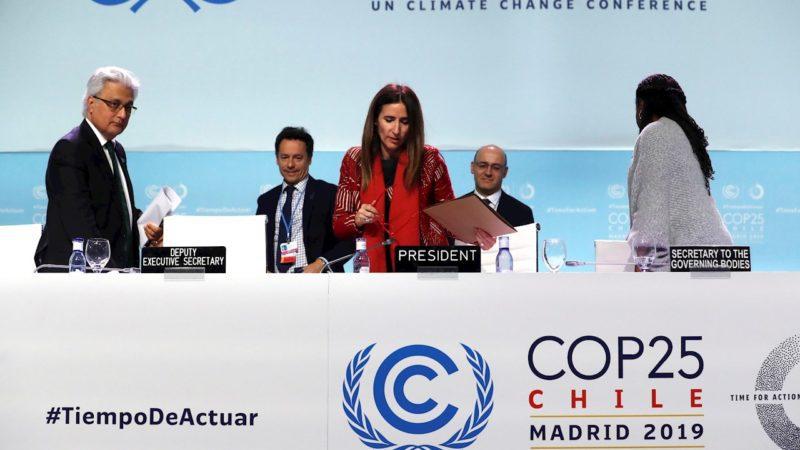 La COP 25 deja para el año que viene las decisiones importantes