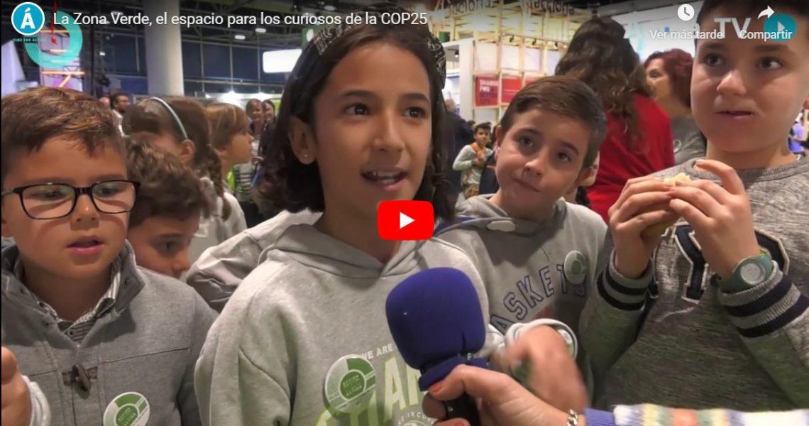 La Zona Verde, el espacio para los curiosos de la COP25