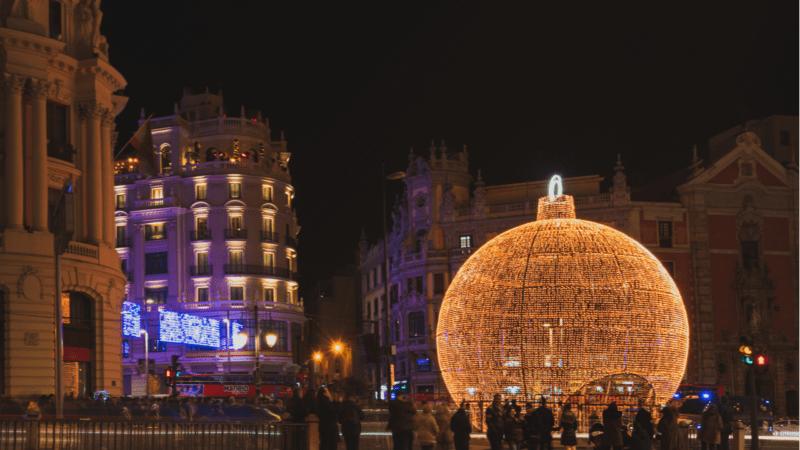 El impacto ecológico de las luces de Navidad: consumo de energía y contaminación lumínica